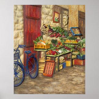 Pulgadas del poster 16x20 del soporte de fruta