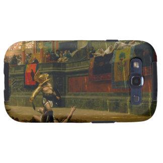 Pulgar dado vuelta dorso de Pollice de Jean León G Galaxy S3 Cárcasas