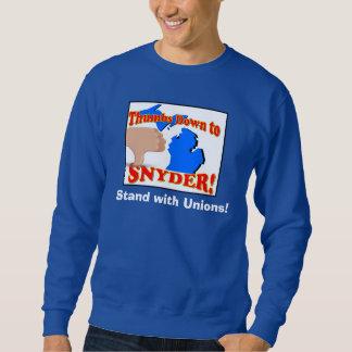Pulgares abajo a Snyder Suéter
