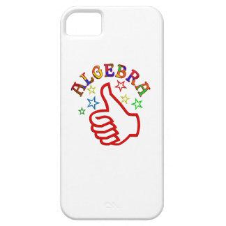 Pulgares de la álgebra para arriba iPhone 5 carcasas