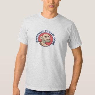 Pulgares oponibles buenos camisas