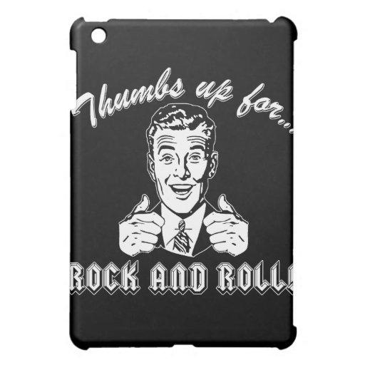Pulgares para arriba para el rock-and-roll