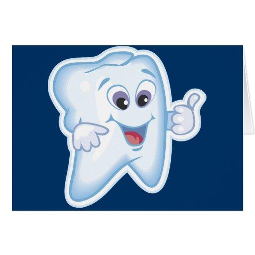 ¡Pulgares para arriba para la higiene dental! Tarjeta De Felicitación