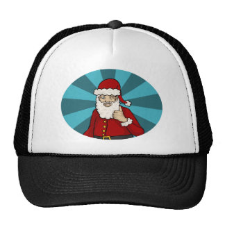 Pulgares para arriba, Santa - gorra