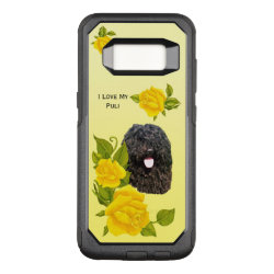 Puli and Yellow Roses OtterBox Commuter Samsung Galaxy S8 Case