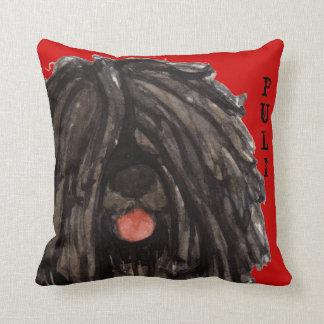 Puli Color Block Throw Pillow