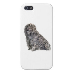 Case Savvy iPhone 5 Matte Finish Case with Puli Phone Cases design