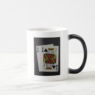 Pulido grande taza de café