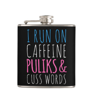 Puliks and Cuss Words Flask