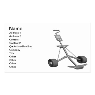 Pull Cart Business Card