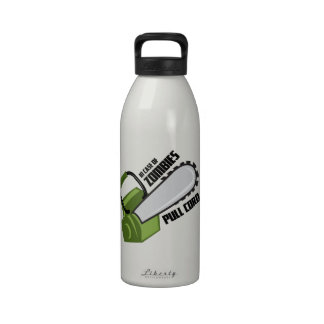 Pull Cord Reusable Water Bottle