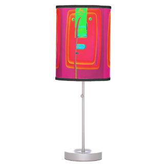 Pull for Help Psychedelic Desk Lamp