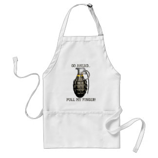 Pull My Finger Adult Apron