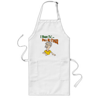 Pull My Finger Apron