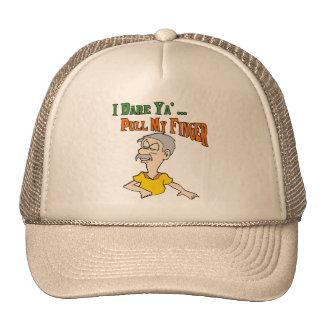 Pull My Finger Trucker Hats
