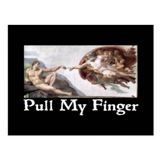 Pull My Finger Postcards