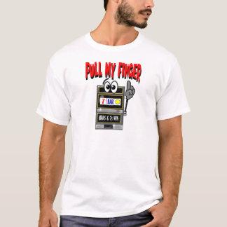 Pull My Finger Slot Machine T-Shirt