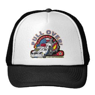 Pull Over Cop Car Trucker Hat