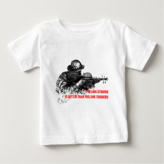 Pull strings, not triggers baby T-Shirt