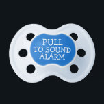 """Pull To Sound Alarm Funny Pacifier<br><div class=""""desc"""">Pull to sound alarm funny pacifier for babies  .. baby accessories from Ricaso</div>"""