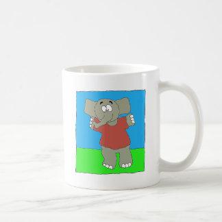 Pulla del momento del aterrizaje tazas de café