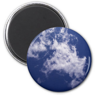 Pulled Cotton Clouds Magnet