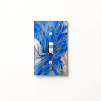 Pulled Glass Light Switch Cover