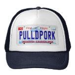 Pulled Pork NC Plate Trucker Hat