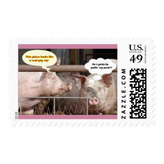 Pulled Pork Postage Stamp