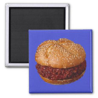 Pulled Pork Sandwich Magnet
