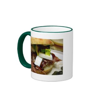 Pulled pork sandwich mug