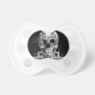 Pulled sugar, melting sugar skull pacifier