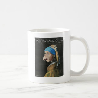 Pullet With A Pearl Earring Mug
