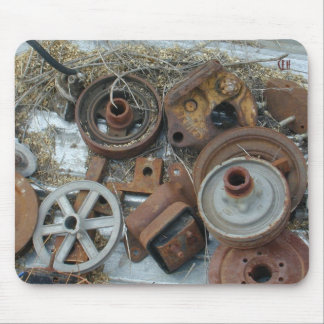 Pullies & Junk Mouse Pad