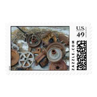Pullies & Junk Postage Stamps