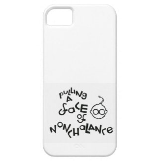 Pulling A Face Of Nonchalance iPhone 5 Case