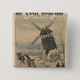 Pulling down one of the last windmills button