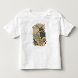 Pulling down one of the last windmills toddler t-shirt