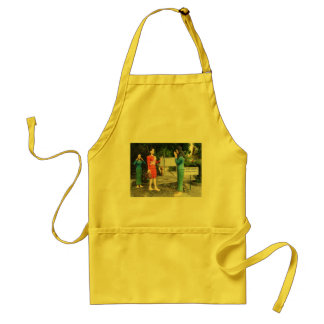 Pulling Faces Behind Your Back Adult Apron