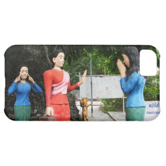 Pulling Faces Behind Your Back iPhone 5C Case