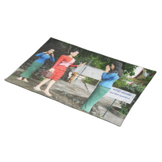 Pulling Faces Behind Your Back Placemat