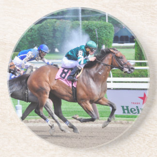 Pulling G's by Curlin Drink Coaster
