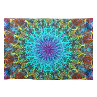 Pulling In kaleidoscope Cloth Placemat