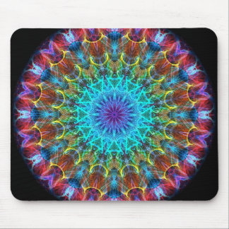 Pulling In kaleidoscope Mouse Pad