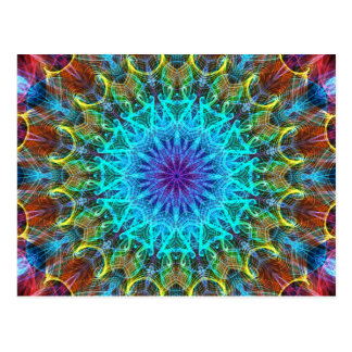 Pulling In kaleidoscope Post Cards