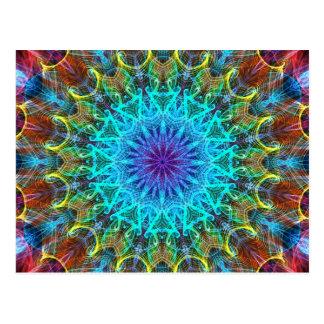 Pulling In kaleidoscope Postcard