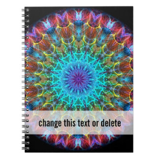 Pulling In kaleidoscope Spiral Notebook