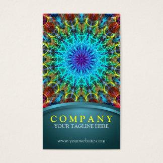 Pulling In Mandala Business Card