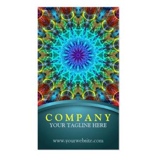 Pulling In Mandala Business Card Template