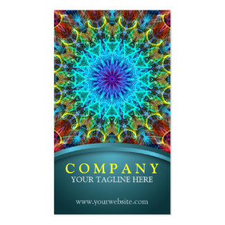 Pulling In Mandala Double-Sided Standard Business Cards (Pack Of 100)